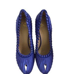 Joan David Pleated Size 9.5 Heel